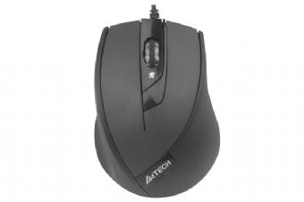 Mouse optic USB A4Tech N-600X-1 , black 1.5m V-Track pad