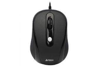 Mouse optic USB A4Tech N-250X-1 , black V-track pad