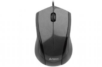 Mouse optic USB A4Tech N-400-1 , black 1.50m V-Track pad