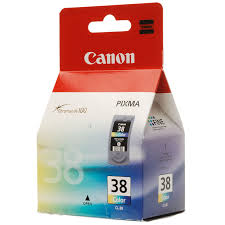 Cartus Canon CL38, color, original,for IP1800/2500