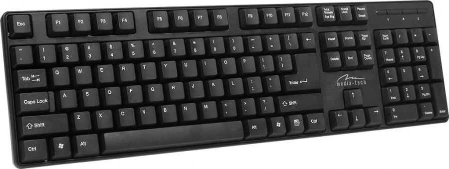 Tastatura Media Tech ,MT122KU-US, USB standard, black