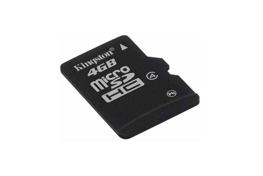 Micro SD Kingston 4GB class4 SDC4/4GB , cu adaptor SD