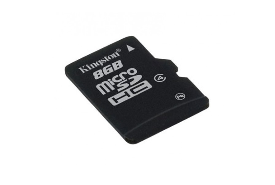 Micro SD Kingston 8GB class4 SDC4/8GB , cu adaptor SD