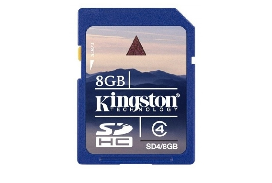 Secure Digital SDHC Kingston 8GB class4 SD4/8GB