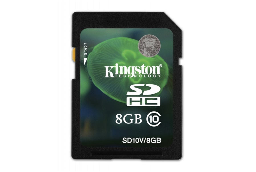 Secure Digital SDHC Kingston 8GB class10 SD10V/8GB