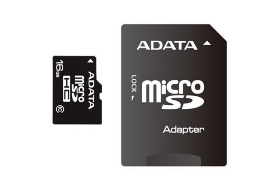 Micro SD A-Data 16GB class10 AUSDH16GUICL10-RA1 , cu adaptor SD