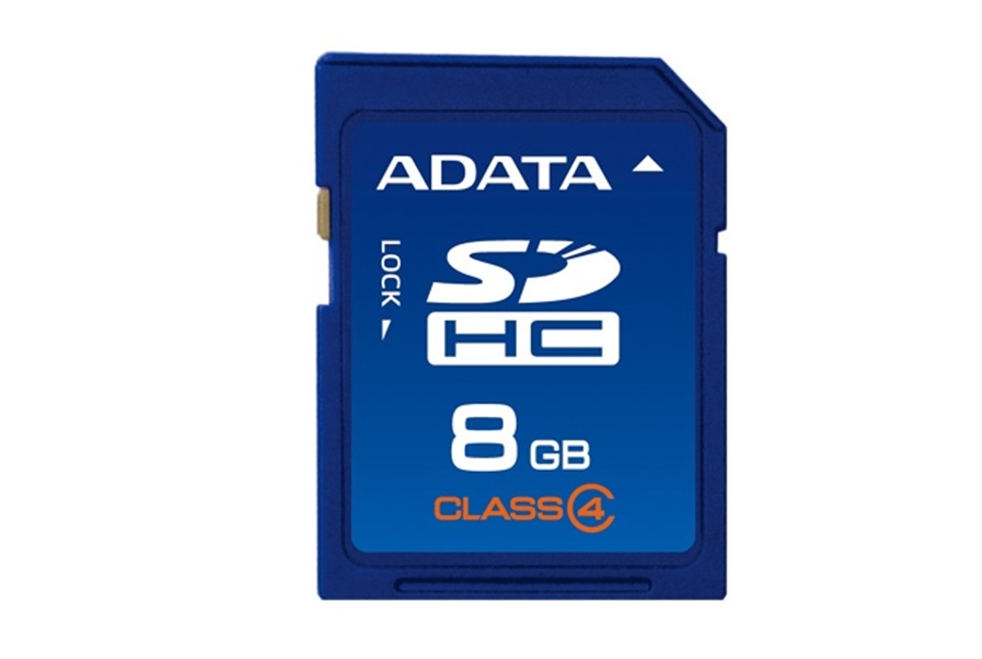 Secure Digital SDHC A-Data  8GB class4 ASDH8GCL4-R