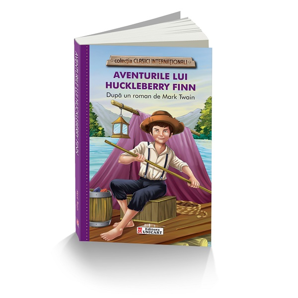 Colectia clasici internationali - Aventurile lui Huckleberry Finn, Unicart