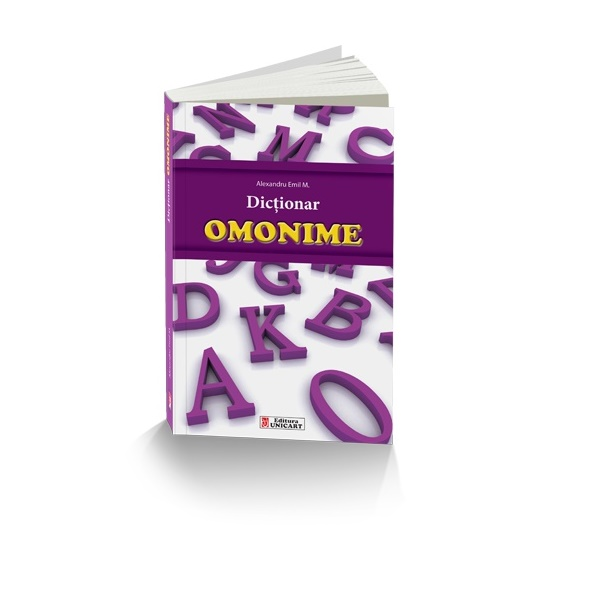 Dictionar de omonime, Unicart