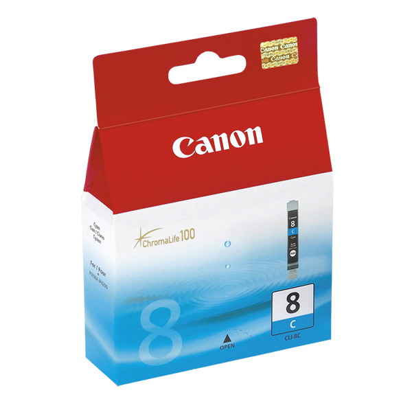 Cartus Canon CLI8C, cyan, original, IP4200