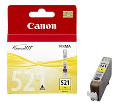 Cartus Canon CLI521, yellow, original