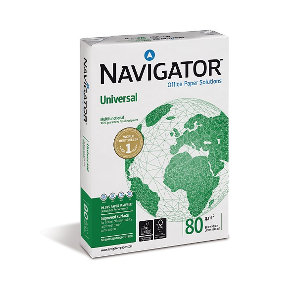 Hartie copiator A4 Navigator Universal 80 gr/mp, 500 coli/top