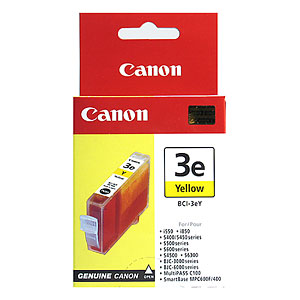 Cartus Canon BCI3eY,yelow,for.BJC 6000