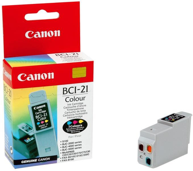 Cartus Canon BCI 21C,color.for BJC 4000