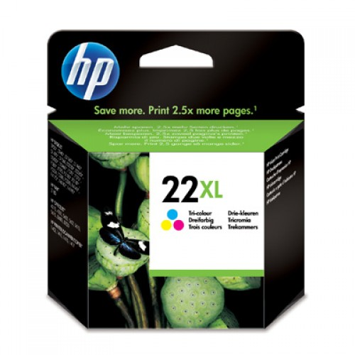Cartus original inkjet HP C9352CE, nr.22XL, color, 415pg, for F2280
